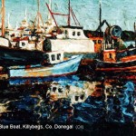 The Small Blue Boat, Killybegs, Co Donegal
